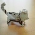 長い割り箸袋の猿2