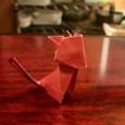 短い箸袋の猫2