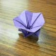 短い割り箸袋で花3