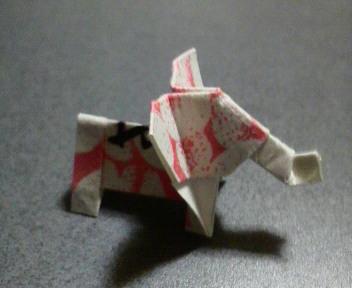 短い箸袋の象修正