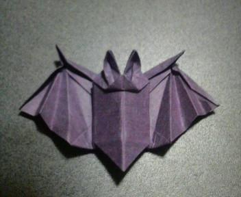 箸袋の蝙蝠(修正)