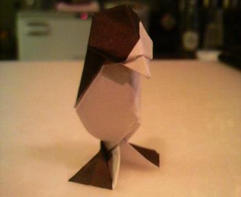 短い箸袋ペンギン再掲