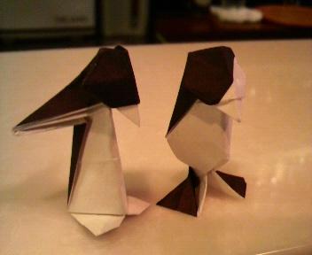 新旧ペンギン比較