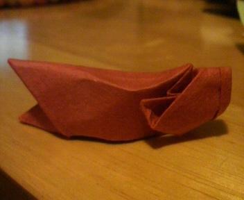 短い割り箸袋でこいのぼり