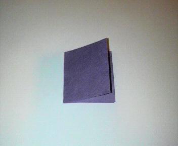短い割り箸袋で箸置き