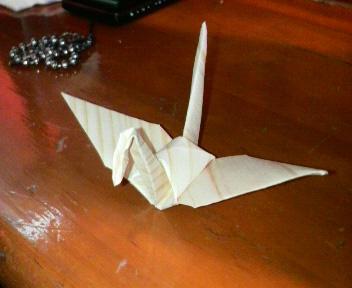 木の折り紙