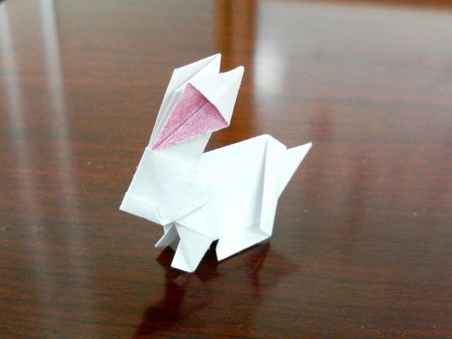 簡単 折り紙 折り紙 うさぎ 作り方 : divulgando.net